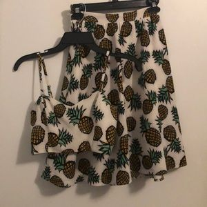 Lucca Couture pineapple co-ord set